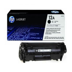 HP 12A Black Original Laser Jet Toner Cartridge