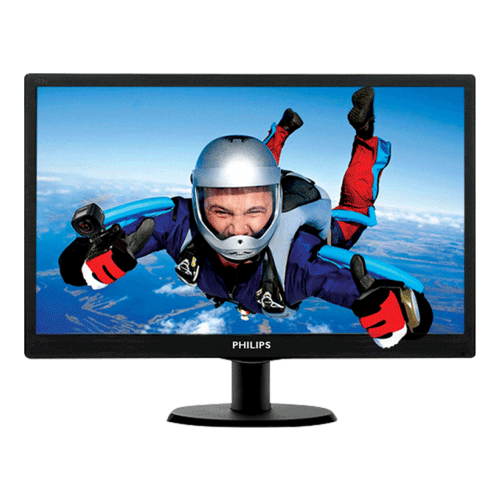 PHILIPS 18.5 Inch 193V5LHSB294 LED MONITOR (1)