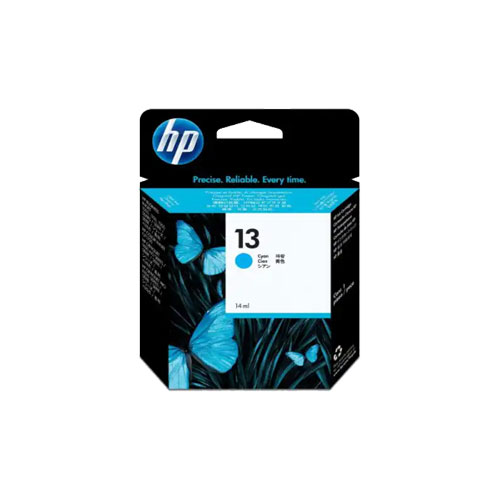HP 13 Cyan Original Ink Cartridge