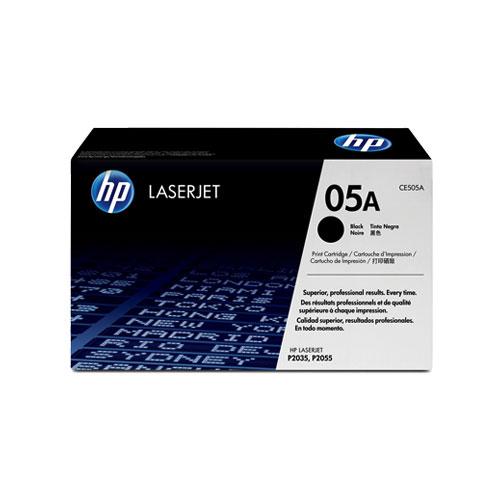 HP 05A Black Original LaserJet Toner