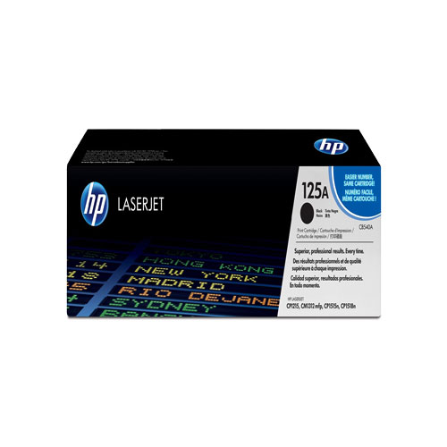 HP 125A Black Original Laser Jet Toner Original Cartridge