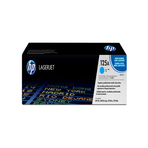 HP 125A Cyan Original LaserJet Toner