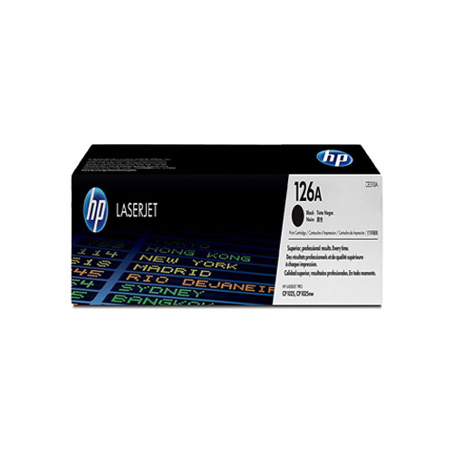 HP 126A Black Original Laser Jet Toner Cartridge