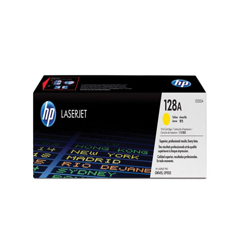 HP 128A Yellow Original Laser Jet Toner Cartridge