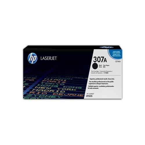 HP 307A Black Original LaserJet Toner