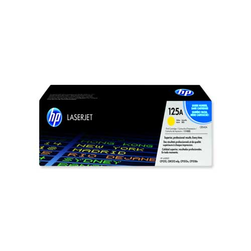 Model: HP 125A Yellow Original LaserJet Toner