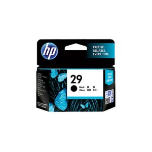HP 29 Black Inkjet Print Cartridge